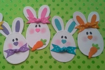 Пасхальные поделки из бумаги для детей