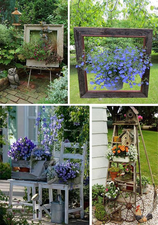 Идеи декора двора своими руками 96