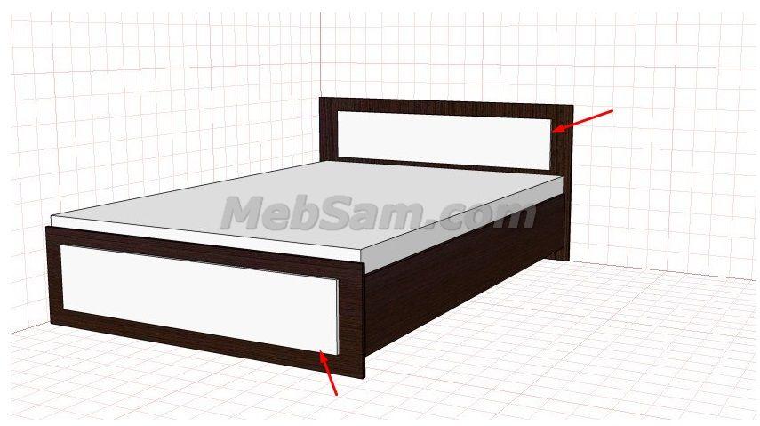 Как собрать кровать из дсп своими руками 82
