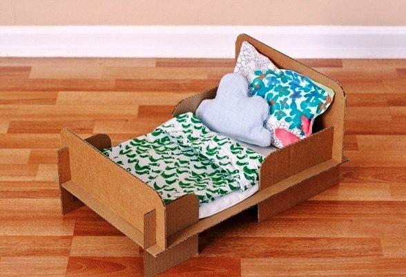 кровать для куклы своими руками
