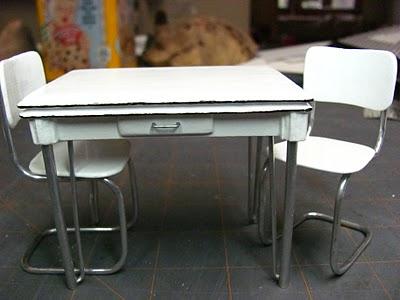стол для кукол своими руками