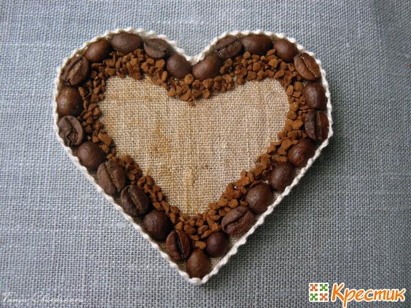 Кофейные магниты своими руками