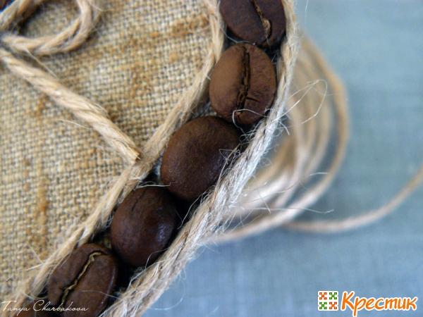 Зерна кофе для декора