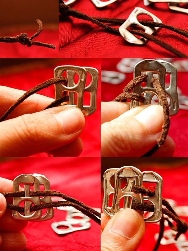 Браслет для ключей своими руками