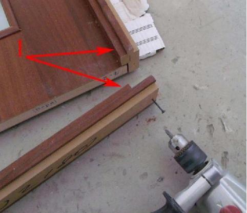 Как изготовить дверную коробку