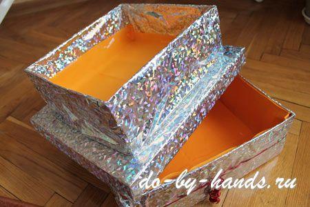 Как сделать коробку от торта - Veproekt.ru