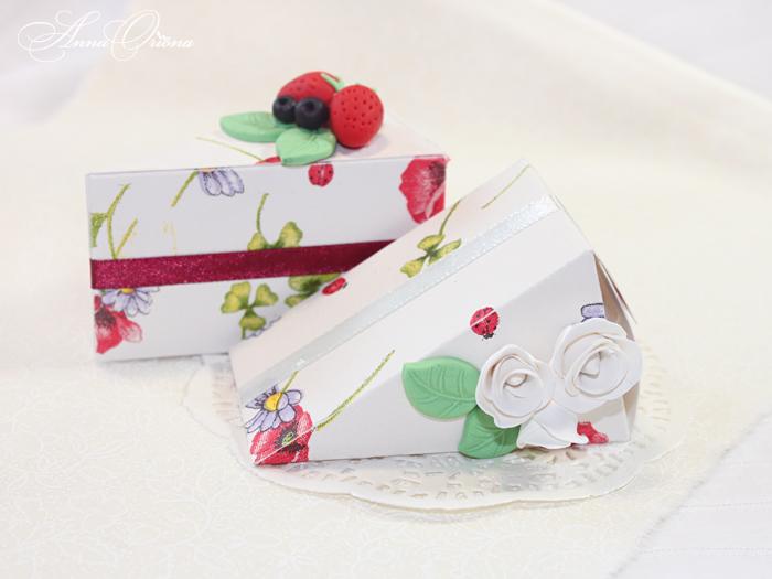 Упаковка для подарков торт 625
