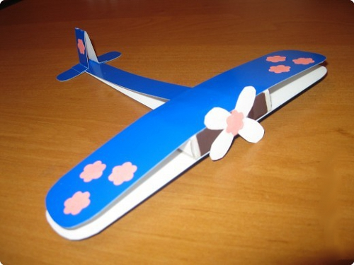 Поделка самолёт своими руками