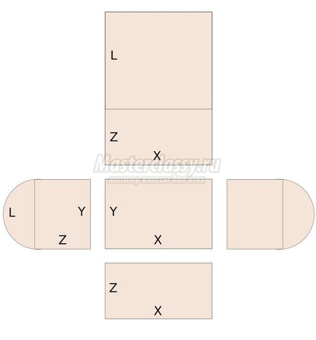 Сделать сундук своими руками из коробки 157