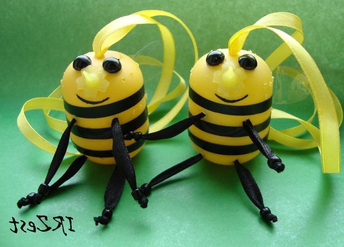 Как сделать пчелу из киндера