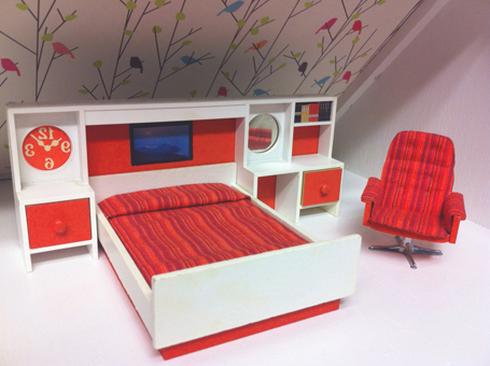 Мебель для кукол своими