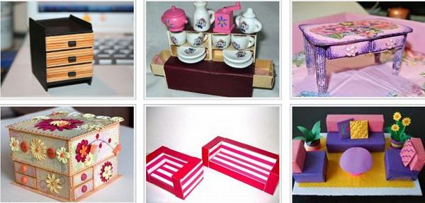 Как сделать своими руками вещи и мебель для кукол настя