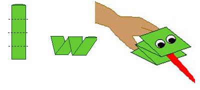 Как сделать поделки из бумаги лёгкие