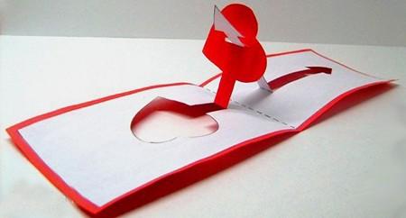 Объёмные валентинки своими руками не из бумаги