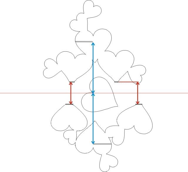 Открытка своими руками схемы шаблоны