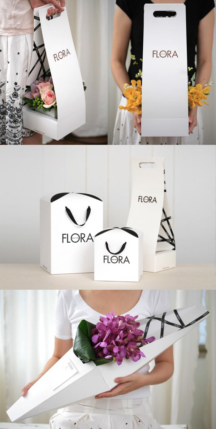 Новая упаковка для цветов