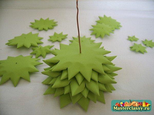 Простые новогодние поделки для детского сада