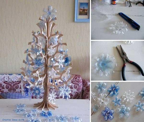 Новогодние поделки своими руками из пластики