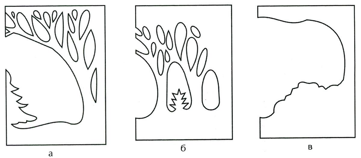 Объемные аппликации своими руками из бумаги схемы 491