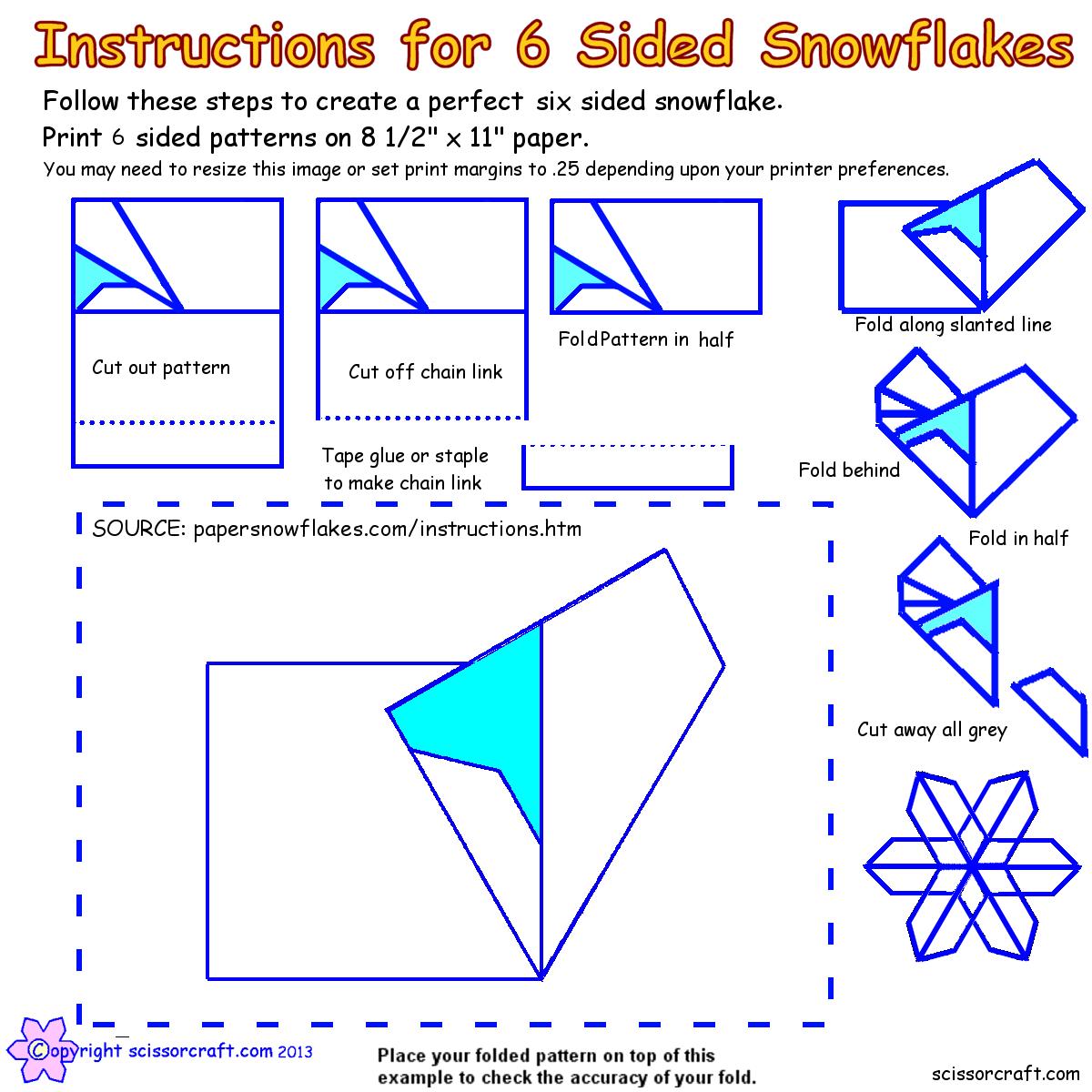 Инструкция как делать снежинки своими руками