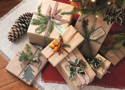 Упаковка для новогодних подарков своими руками фото