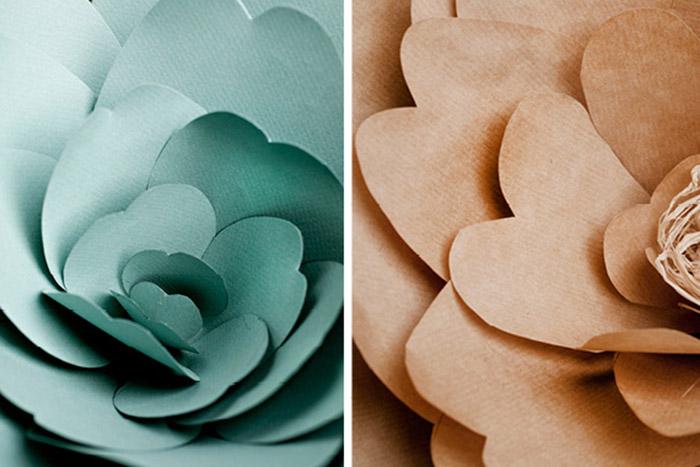 Цветы из бумаги а4 на свадьбу мастер класс