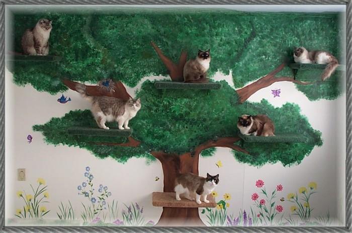 Все поделки с котами