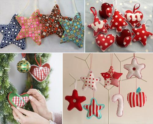 Как сделать украшения к рождеству