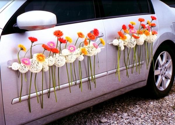 Мастер класс украшаем машину на свадьбу