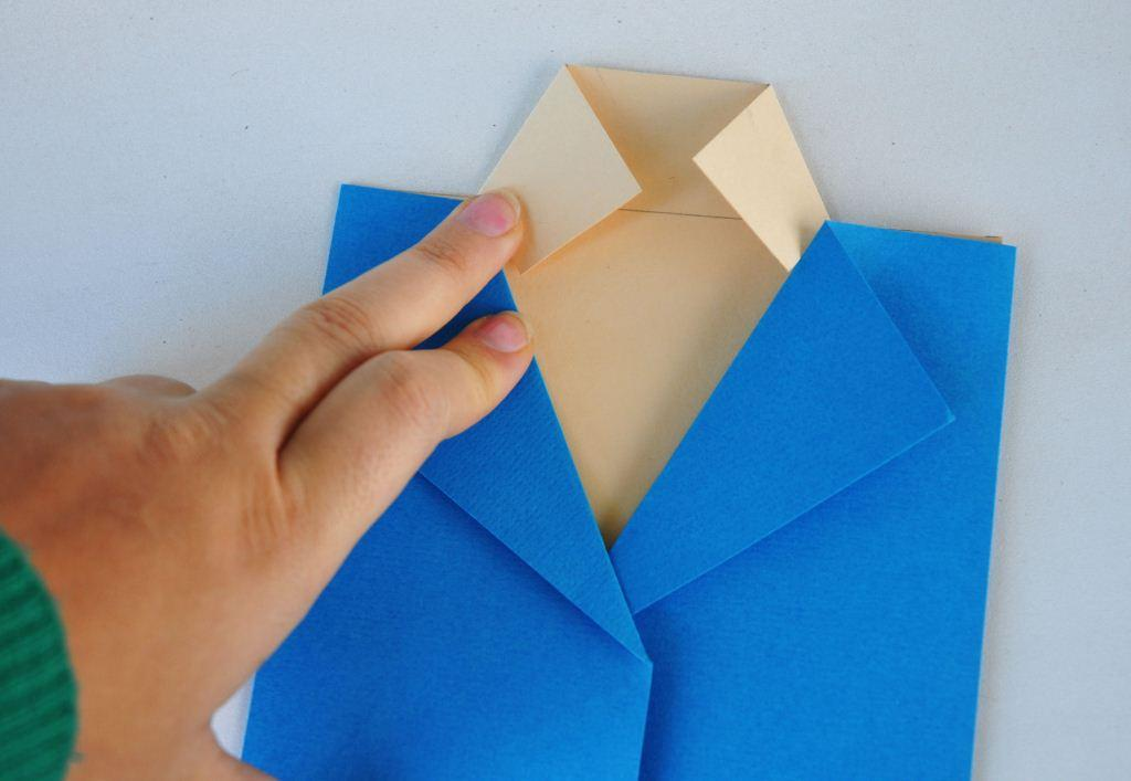 Подарок оригами для мужчин