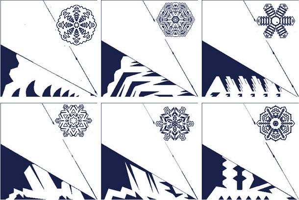 Новогодние снежинки своими руками из бумаги схемы распечатать
