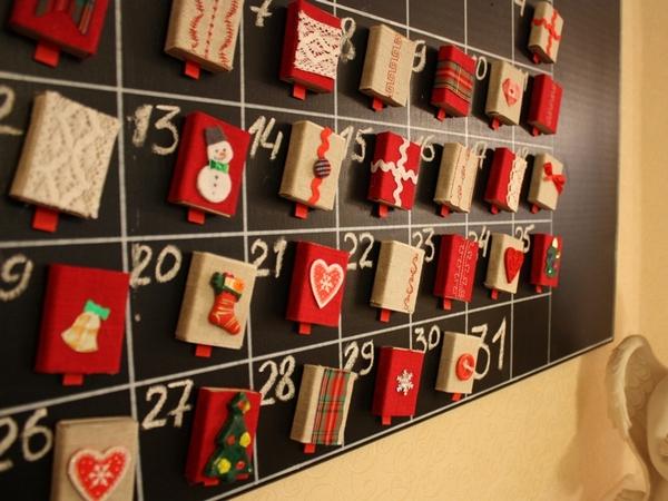 Адвент календарь своими руками коробочки