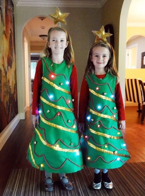 Как сделать своими руками детский новогодний костюм