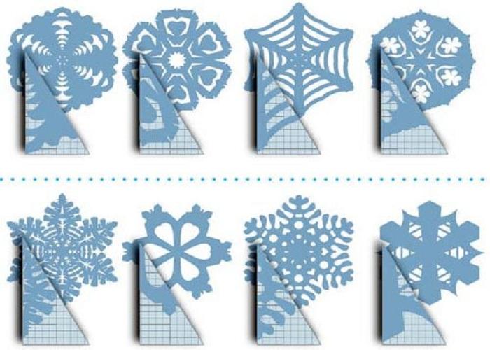 Снежинки своими руками с схема