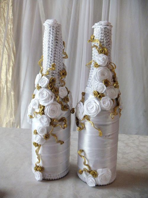 Оформление бутылок шампанского своими руками: - смотреть видео (видео)