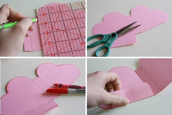 Как сделать из бумаги сердечко коробочка
