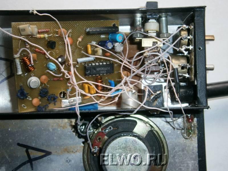 124Ам передатчик на транзисторах