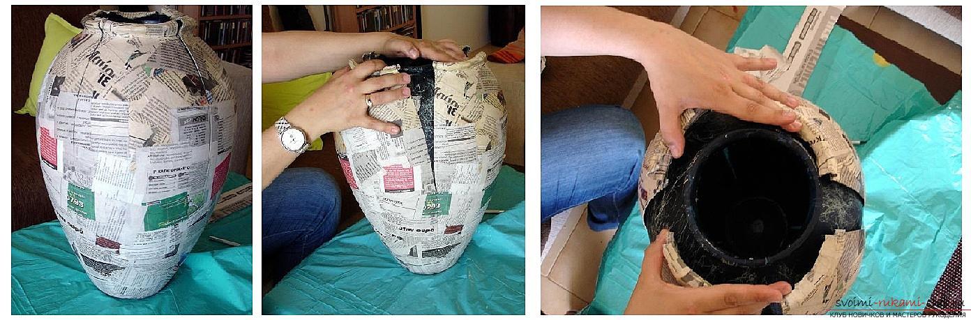 Как сделать корзину из папье-маше - ЛЕГИОН