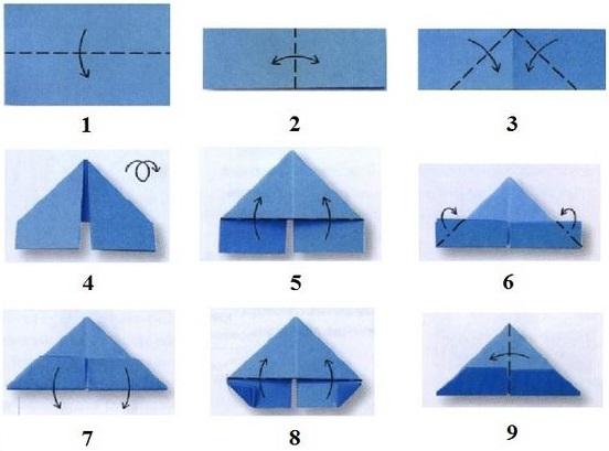 Как сделать модули из бумаги