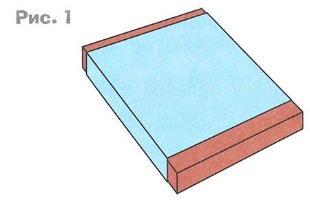 Коробка из картона из а4