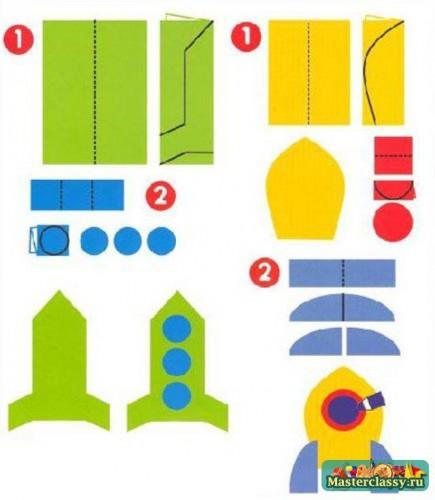 Как сделать ракету своими руками в домашних условиях из бумаги