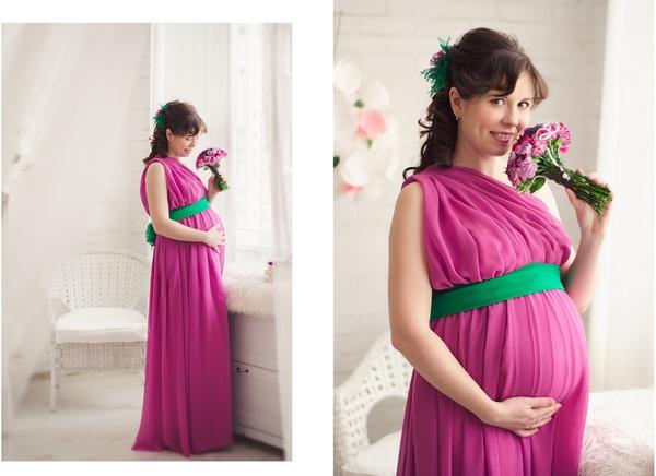 Беременное платье своими руками