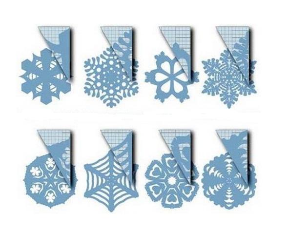 Простые и красивые снежинки своими руками