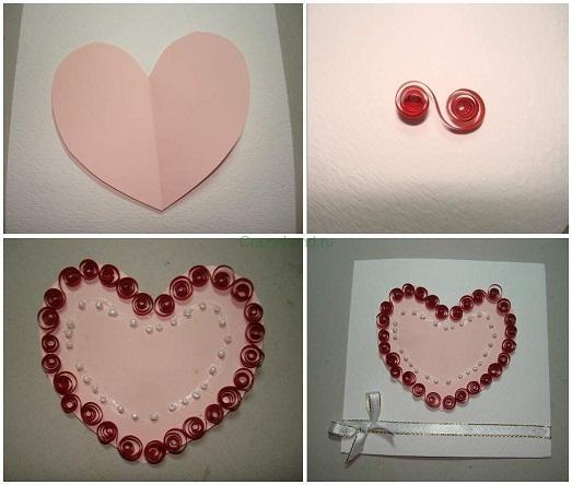 Как можно красиво сделать валентинку - Extride.ru