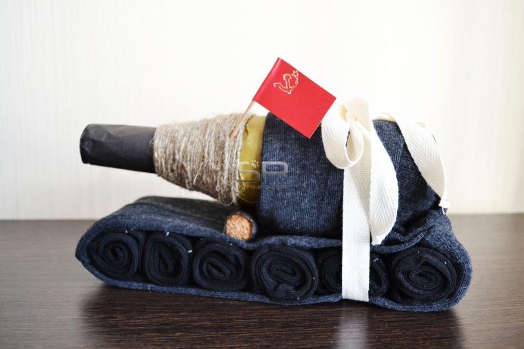 Подарки из носок своими руками