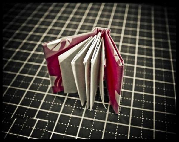 Как сделать из оригами книжку 284