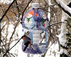 Кормушки из пластиковых бутылок своими руками 5 литров мастер класс 185