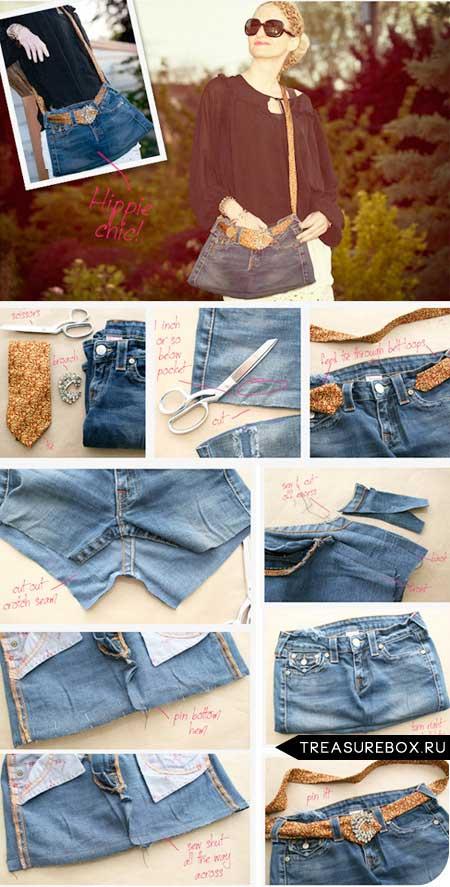 Как сшить джинсовую майку 21