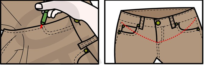 Как своими руками сделать брюки для беременных 81