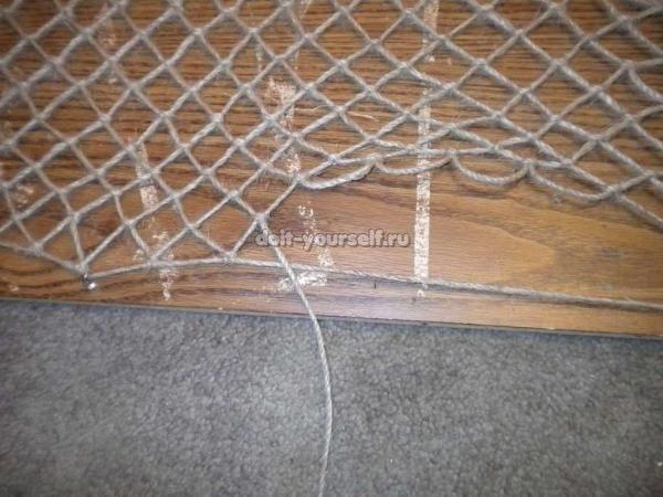 Как из нитки сделать сетку 942